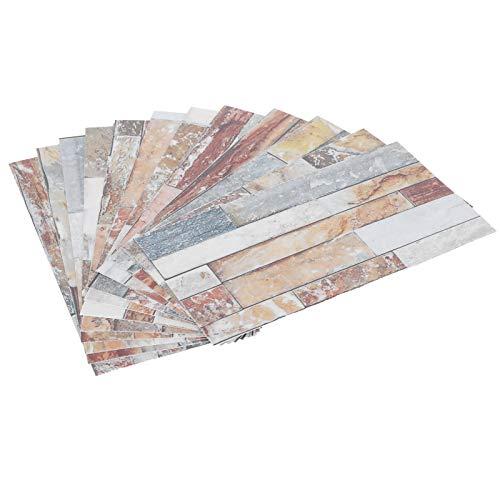 Tomanbery Adhesivo para Azulejos Adhesivo para Azulejos de mármol Impermeable Resistente a la Humedad Cocina para baño Sala de Estar(KIT047)