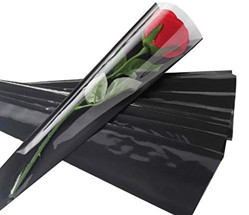 100 pcs unique rose sacs d'emballage bouquet de fleurs sacs d'emballage #13