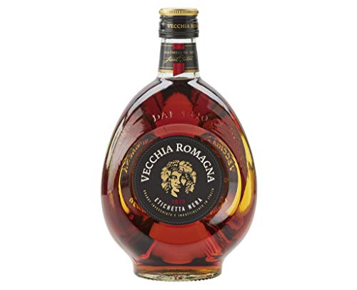 VECCHIA ROMAGNA BRANDY BLACK LABEL CL.70