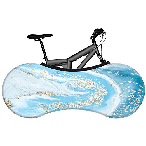 Fiets cover - fiets cover - Flow - opbergtas voor mountainbikes - vuilvrije vloeren en muren - stofvrij en decoratief