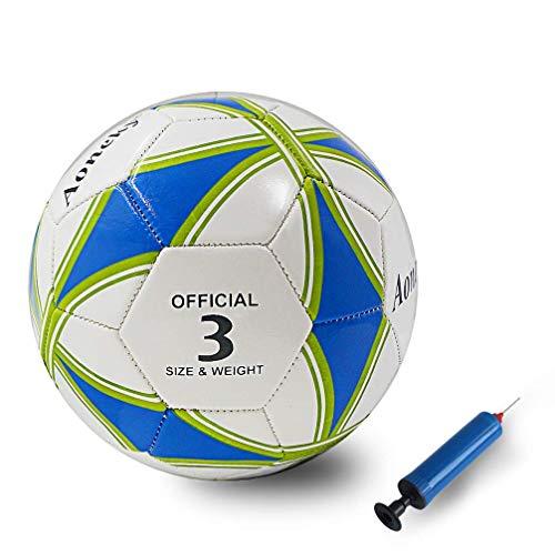 Aoneky Ballon de Football Taille Standad 3/5 -...