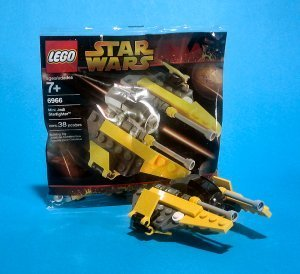 LEGO Star Wars: Mini Jedi Starfighter Establecer 6966 (Bolsas)