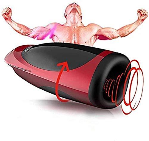 Dispositivo de calentamiento de hombres con función eléctrica 3D para hombres con función de masaje y succión 7 modos de masaje diferentes