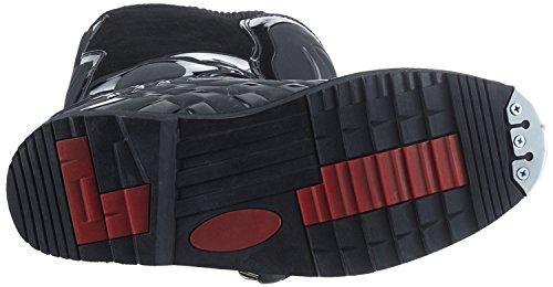 Protectwear Crossstiefel, Endurostiefel Racing aus Leder mit Kunsstoffschnallen, Schwarz, 41 - 5