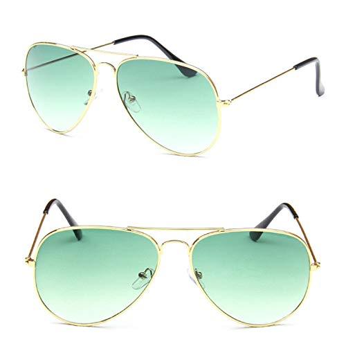 ShSnnwrl Único Gafas de Sol Sunglasses Gafas De Sol De Piloto Vintage para Mujer/Hombre, Colores Dulces, Gafas De Sol De Lujo P
