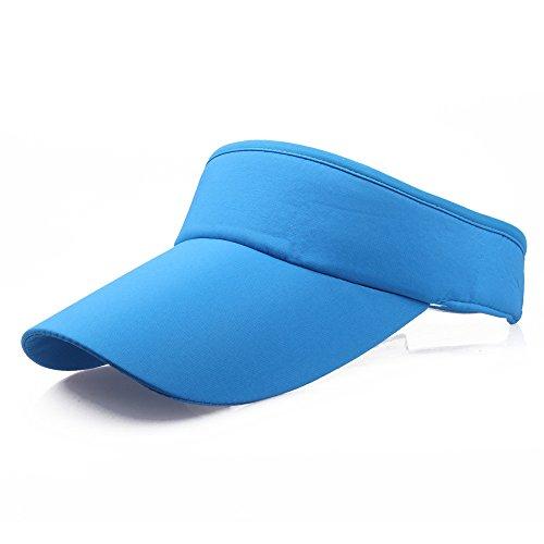 Dengly Blue Wide Brim UV Protection Baseball Cap