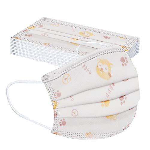 manadlian 10-100 Stück Einweg-Mundschutz für Erwachsene und Kinder, Mund und...