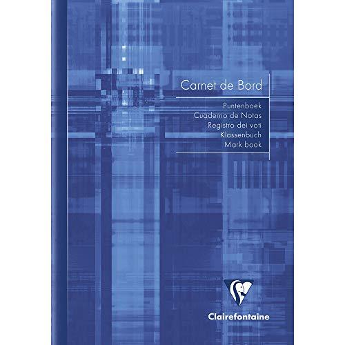 Clairefontaine 3689C - Cuaderno del profesor - A5 14, 8 x 21cm, 20 hojas (colores aleatorios)