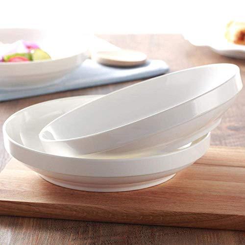 YNHNI Juego de platos de porcelana para niños, plato de cerámica, diseño nórdico, repetible