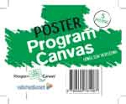 Poster Program Canvas: (carton roll with 5 A0 posters)
