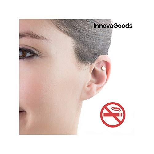 InnovaGoods IG116554 - Imán antitabaco de acupresión