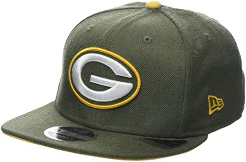 New Era Heather Hype Snap OTC Grepac HTC Cap, Green, SM