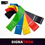 SIGNATRON Big Resistance Loop Exercise Bands for Squats, Hips, Legs, Butt, Glutes