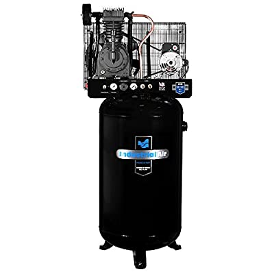 Industrial Air IV5048055 Vertical 80 gallon Two Stage Cast Iron Industrial Air Compressor