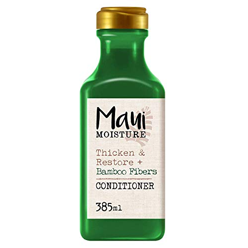 Maui Moisture Thicken and Restore + Bamboo Fiber Conditioner, 385 ml