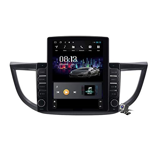 Gokiu Android 9.1 Pantalla Vertical de 9,7 Pulgadas GPS Navegador Coche para Honda CRV CR-V 2012-2016 - FM Radio del Coche, Conexión a Internet, Soporte DSP/Llamadas Manos Libres,TS200