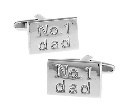 Ashton and Finch No 1 Dad Cufflinks for Men's Birthdays, Weddings and...
