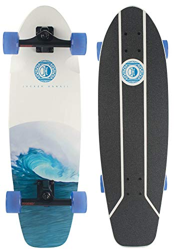 JUCKER HAWAII Skatesurfer ® Nalu - Surf Skateboard 31 Inch Deck Complete