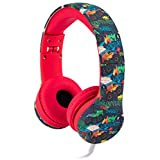 Snug Play+ Kids Headphones Volume Limiting and Audio Sharing Port (Monster Trucks)