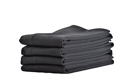 冷却タオル 首巻き ひんやり 冷感 クール 冷たい スポーツタオル アウトドア 熱中症対策 4枚