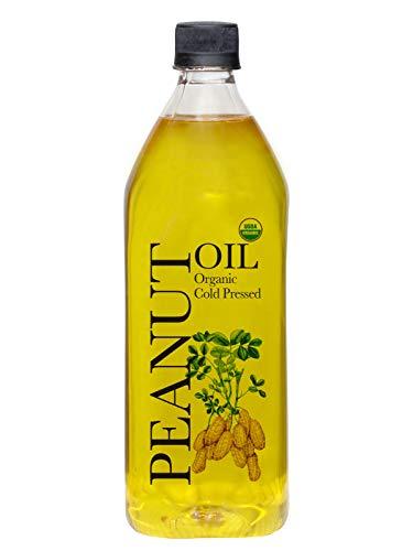 Daana Organic Peanut Oil: COLD PRESSED (34 Fl oz)