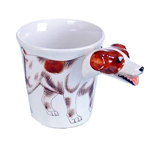 Angel\'s Pride Jack-Russel-Terrier Tasse/Kaffee-Becher/Dog Mug/3D-Motiv/Keramik-Tasse-Hund