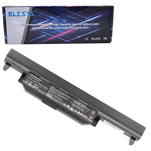 BLESYS 10.8V 6-Cellule A32-K55 Compatible avec ASUS F55A F55C F55V F75A F75VC F75VS U57 U57A U57D U57N U57V U57VD U57VM X55A X55C X55V X55VD X75A X75V X75VC Séries Batterie d'ordinateur Portable