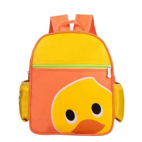 hefeilzmy Kids Duck Book Backpack School Bag for Boys Girls 1-6 Years Old