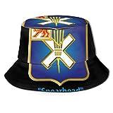 AOOEDM Pork Chop Hill 32nd Infantería REGT W SVC Cintas Unisex Sombreros de Sol Sombrero de Playa Sombrero de Pescador Transpirable Empacable Verano...