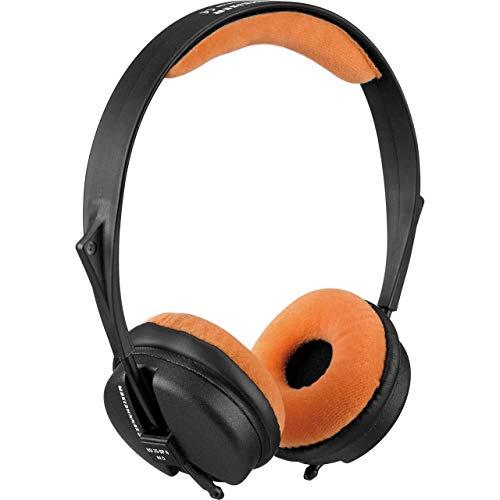 Zomo VELOUR - Juego de almohadillas para Sennheiser HD 25 SP, color naranja