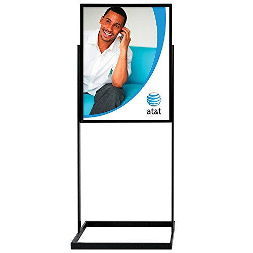 Signworld Heavy Duty Floor Standing Poster Display Stand Sign Holder 22' X 28'