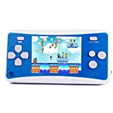 HigoKids Handheld Game Console for Children 8-Bit Retro Video Game Player with 2.5 inches LCD Screen The 80's 90's Arcade Video Gaming System Built-in 152 Classic Old School Games Entertainment-Blue