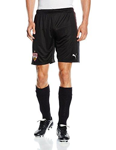 PUMA Herren Hose VfB Stuttgart Replica Shorts, Black Carbon, 3XL