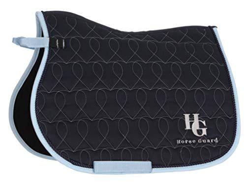 Reitsport Amesbichler HorseGuard Shetty Schabracke im Herzdesign, dunkelblau