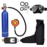 Sauerstoffflasche Kit, Mini Taucherflasche Tauchausrüstung Set, Pressluftflasche Schnorcheln...