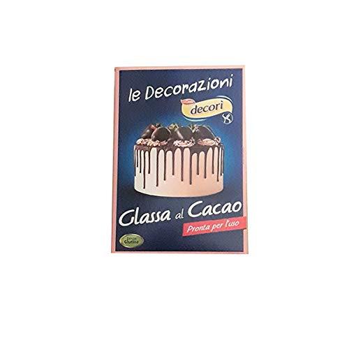 DECORI' Glassa al Cacao 100gr - senza glutine -