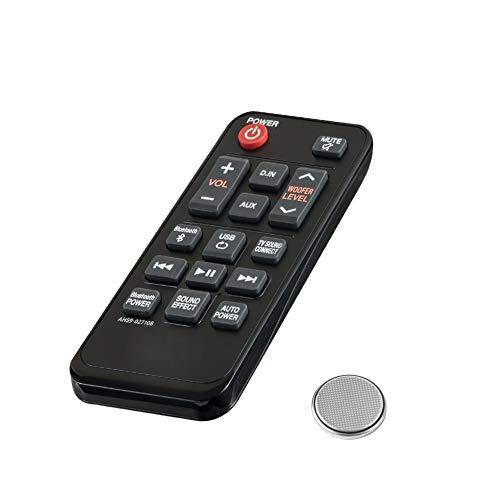 Mando a Distancia para Samsung AH59-02710A HW-JM25 HW-J250 Barra de Sonido - Control Remoto de Reemplazo para Soundbar