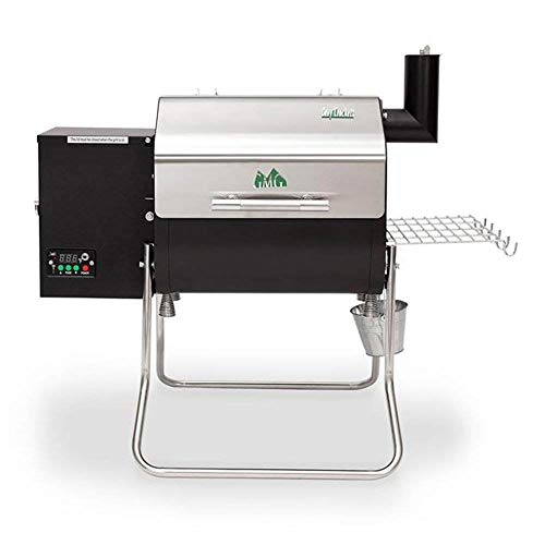 Green Mountain Davy Crockett WiFi Control Portable Wood Pellet Grill Combination Grill-Smokers Smokers