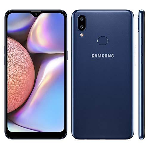 "Smartphone Samsung Galaxy A10S 32GB Dual 6.2"" 13MP - Azul"