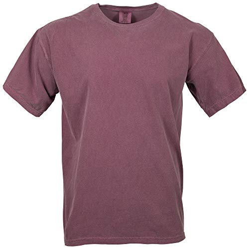 Comfort Colors Men's Adult Short Sleeve Tee, Style 1717, Berry, X-Large