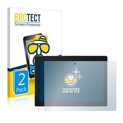 BROTECT 2X Entspiegelungs-Schutzfolie kompatibel mit Lenovo Tab 3 10 Business TB3-X70L Bildschirmschutz-Folie Matt, Anti-Reflex, Anti-Fingerprint