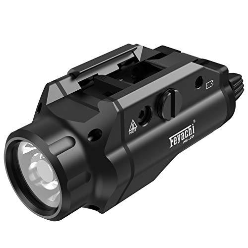 Feyachi HL-20 Compact Tactical Handgun Weapon Light 400Lumen Flashlight for...