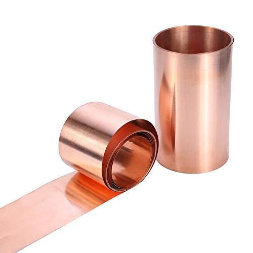 Rollo conductor de doble cara de la anchura 30m m de la hoja de cobre puro de la hoja 3M de cobre 0,3 milímetros