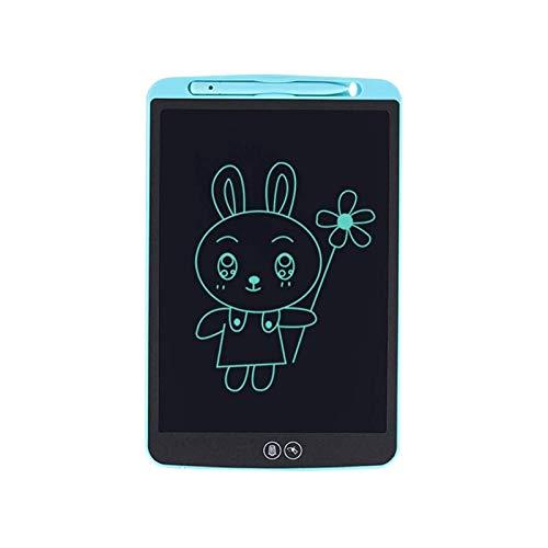 Sdesign Girls Gift Doodle Tablet Light Tablero de Dibujo para niños, 12 Pulgadas Pink Girls Toys Colorful LCD Escribir Tableta Digital Borrable Tableta Tableta Juguetes para niños de 3 a 10 años