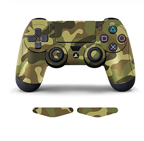 Data Frog Protective Cover Sticker for PS4 Controller Skin for Playstation 4 Pro Slim Decal Accessories 15 Styles (Color : 10)