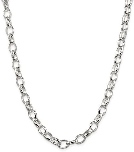 Solid 925 sterling silver Gorgeous 12mm Rolo Necklace with Toggle Clasp All Lengths layering or as statement necklace good for charms