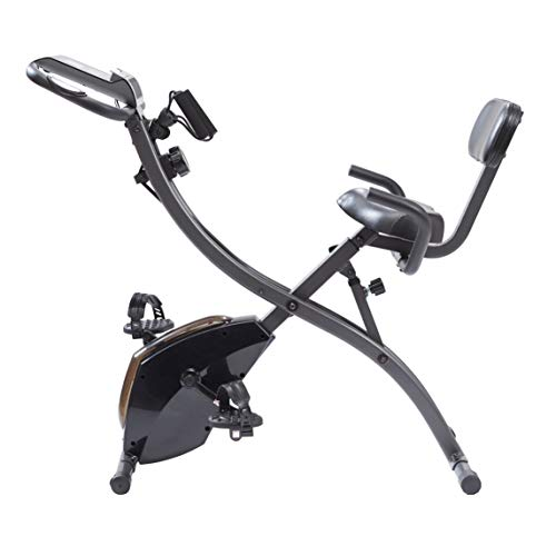 High Street TV Slim Cycle 2-in-1 Stationary Exercise Bike Full-Body Fat Burning Cardio, Strength & Resistance Training, 01269