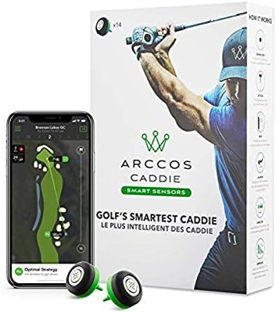 Arccos Caddie Smart Sensors Featuring Golf s First Ever A I Powered GPS Rangefinder 3rd Generation product image