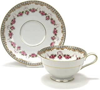 Ridgewood by Noritake, China Cup & Saucer, Footed