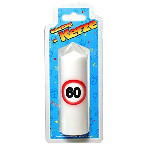 Geburtstags Kerze zum 60. Geburtstag 135g (Grundpreis 100g: 5,88 EUR)